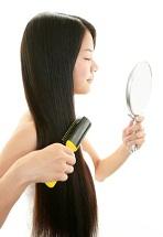 日焼け意外に髪の毛を黒くするメラニン色素