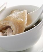 美肌成分コラーゲンを含むフカヒレ料理